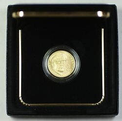 2013 5 Five Dollar 5-star Generals Uncirculated Commem Gold Coin As Issued