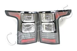Genuine Land Rover Range Rover L405 Dvr Autobiography Clear Led Tail Light Pair