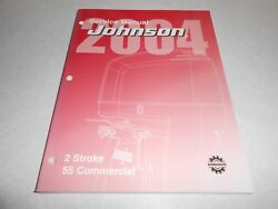 2004 55 Hp Commercial Genuine Evinrude Johnson Outboard Repair And Service Manual