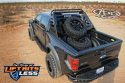 Add C015032600103 Chase Rack Lite W/tire Carrier For 2009-2014 Ford F-150/raptor