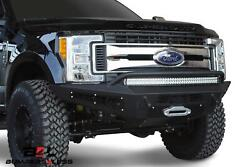 Add F167382840103 Front Honeybadger Winch Bumper For 17-20 Ford F-250 Super Duty