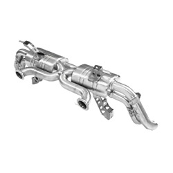 Audi R8 V10 Topgear F1 Style Valved Performance Cat Back Stainless Steel Exhaust