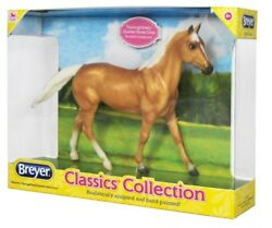Breyer Classics Collection - Palomino Thoroughbred - 1:12 Scale - 932 - NEW
