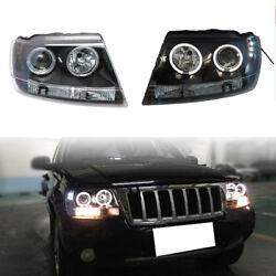 For Jeep Grand Cherokee 99-04 Auto Front HID Xenon Projector Headlight Lamps NEW