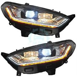 HID Xenon Projector Car Headlights Headlamps LED For Ford Fusion(US) Mondeo(EU)
