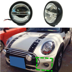 Car Grille Light Front Fog Light Driving Lamps DRL for BMW Mini