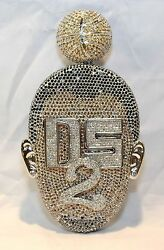 DESHAWN STEVENSON CUSTOM-MADE 34+ CARAT DIAMOND PENDANT W UGL CERT - $252K Value