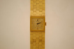 Lady's Rolex Watch In Solid Yellow Gold- C.1940's-Rare!