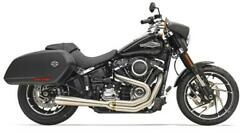 Bassani 1s81ss Stainless Steel Road Rage 2 Into 1 Exhaust Harley 18 Flsb Softail
