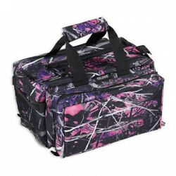 Bulldog Cases Muddy Girl Camo Range Bag Deluxe with Strap - 13inx7inx7in BD910