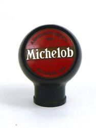 1930s Michelob Beer Fisher Products Porcelain Bakelite Ball Knob Tap Handle