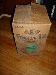 DUPONT FREON PURE VIRGIN R-12 FREON REFRIGERANT NEW OLD STOCK 25 POUNDS
