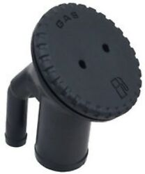 BOAT GAS FILL W VENT BLACK PLASTIC INCLUDES KEY PERKO BRAND 0542DPGBLK
