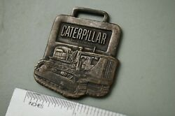 Cat Caterpillar D7 Tractor Dozer Crawler Vintage Watch Fob Beckwith Machinery Co