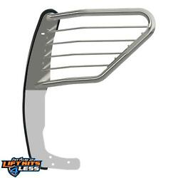 Aries 9052-2 Polished 1-piece Design Grille Guard For 2016-2018 Nissan Titan Xd