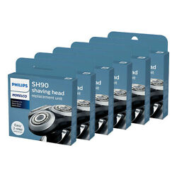 Norelco Sh90 Shaving Replacement Heads For S9521 Model 6 Pack