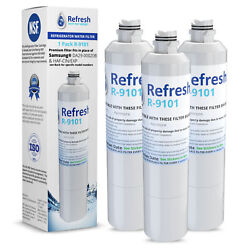 Replacement For Samsung Rs261mdrs Refrigerator Water Filter - By Refresh