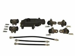 Brake Master And Wheel Cylinders W/ Hoses 1946-1954 Plymouth 46 47 48 49 50 51 54