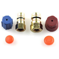 Car AC Compressors HighLow Pressure Fittings Cap Valve Cores Seal Air Condition