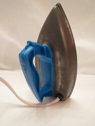 Blue Play Toy Electric Iron Wolverine Works Vintage 1950's