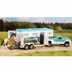 Breyer 1:32 Stablemates Truck and Gooseneck Trailer Model. Delivery is Free