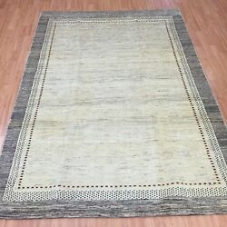 5and039 X 7and0393 New Fine Indian Tribal Oriental Rug - Hand Made - 100 Wool - Veg Dye