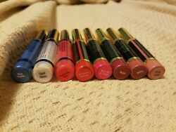 5 Lipsense And 3 Gloss Lot Testers See Desc Some Limited Edition