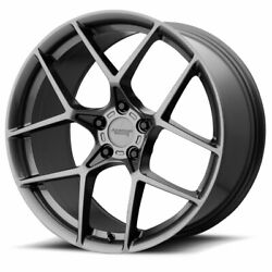 American Racing Ar924 Crossfire 20x10 5x120.65 Offset 75 Graphite Qty Of 4