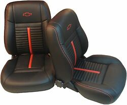 Chevelle Ss Interior Kit 68-72 Bucket Front Seats And Rear Bench Seat Upholstery