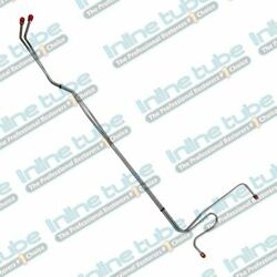 65-66 Impala Bb Power Glide T350 T400 700r4 Transmission Cooler Lines Stainless