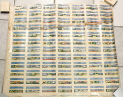 Early O-pee-chee Soak In Water And Slide Off Gum Transfer Animal Uncut Sheet