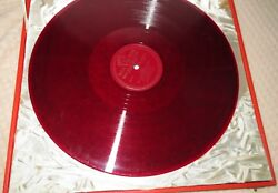 ANTIQUE RCA VICTOR ITALIAN RED SEAL Shellac-ish Enrico Caruso RCA 2sided VINTAGE