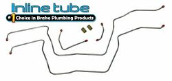 78-87 Buick Grand National T-type 200r4 6cyl Transmission Cooler Lines Stainless