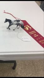 Breyer LSQ Custom Stablemate Quarterhorse Mare With Ribbons! LOOK
