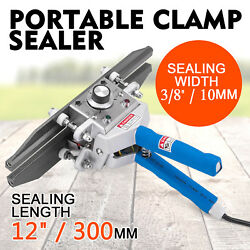 FKR-300 Portable Hand Clamp Sealer 400W Heating Temperature Control POPULAR