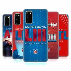 Official Nfl 2019 Super Bowl Liii Soft Gel Case For Samsung Phones 1