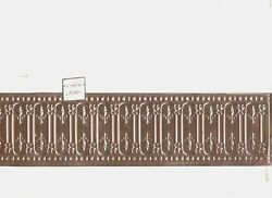 Wainscoting - Stamped Copper - 1/12 Scale Dollhouse Miniature 36050
