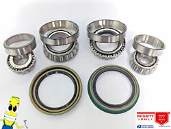 Usa Made Front Wheel Bearings And Seals For Amc Pacer 1975-76 Kelsey Hayes Brakes