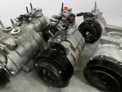 2015 Wrangler Air Conditioning AC AC Compressor OEM 15K Miles (LKQ~180776376)