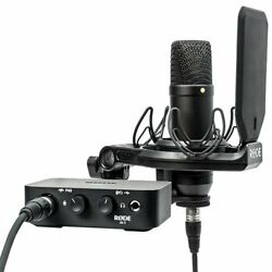 Rode NT1 Condenser Microphone & AI1 One-Channel USB Audio Interface Pack