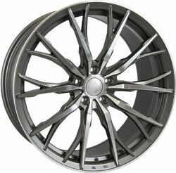 Alloy Wheels X 4 8.5 20 Gmf Hub V1f For Audi A5 A6 A7 A8 Q3 Q5 Q7 Coupe