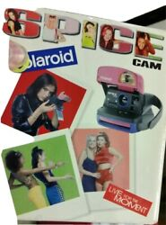 Vintage Spice Girls Polaroid Camera 📷 600 Instant Limited Edition 90s Music Box