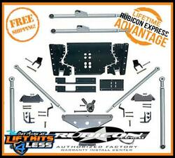 Rubicon RE7530 ED Long Arm Rear TriLink Suspension Upgrade Kit for 97-06 Jeep TJ