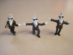 Mcdonalds 1988 Mac Tonight Moon Man - Complete Set Of 3 - Vintage And Cool
