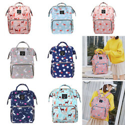 Fashion Diaper Bags Travel Backpack Mummy Maternity Nappy Bag for Baby Care