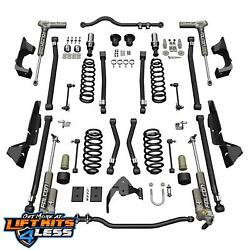 Teraflex 1324032 4'' Lift Kit Alpine CT4 wFalcon 3.2 Shocks for 2007-18 Jeep JK