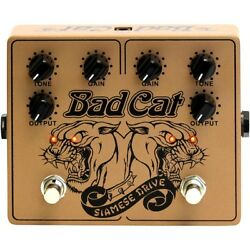 Bad Cat Siamese Dual Drive Overdrive Pedal LN