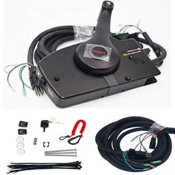 8 Pin Mercury Right Side Boat Motor Outboard Mount Remote Control Box Cable Set