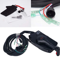 For Mercury 8Pin Outboard Boat Side Mount Remote Control Box Cable 15ft Pretty