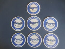 ,2 diff & complete sets of 3&1 BREWERS Micro Brewery 1980,s Issue BEER COASTER